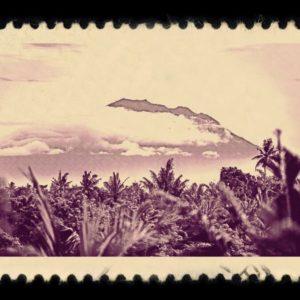 Bali Indonesia Antique Stamp
