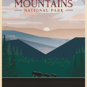 Great Smoky Mountains National Park Illustration