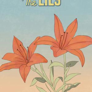 Orange Lily Flowers Illustration