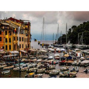 Portofino Boats In Italy