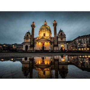 Saint Charles Church In Vienna Austria