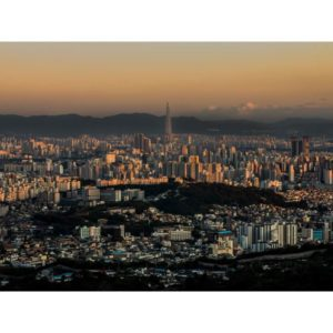 Seoul South Korea Daytime View