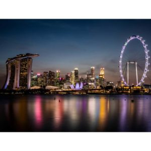 Singapore City During The Night
