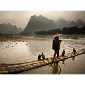 Yangshuo Fishermen in China